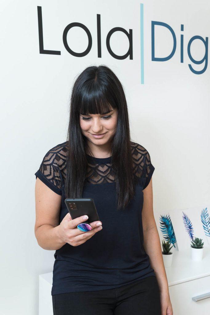 Lola Digital en las redes sociales
