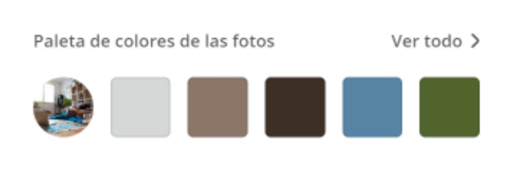 Crear paleta de colores a partir de una imagen en Canva