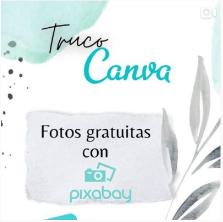 Tutorial en Instagram de truco en Canva para fotos gratuitas