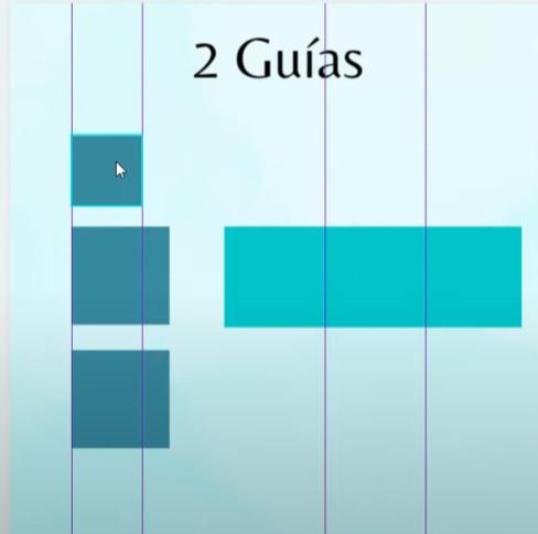 Trucos Canva - Guías (líneas que te permiten establecer márgenes o colocar elementos del mismo tamaño y alineados.