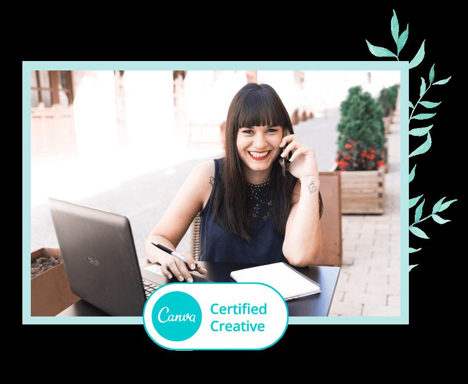 Canva Certified Creative Lola Digital